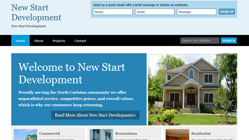 New Start Development